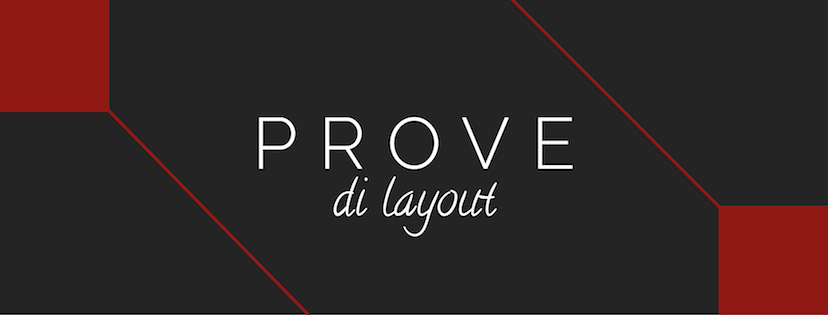 Prove di Layout, templates di eBook in formato ePub3