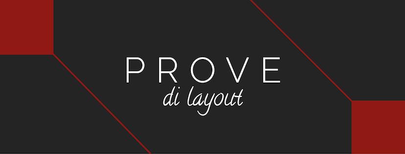 Prove di Layout, templates di eBook in formato ePub3